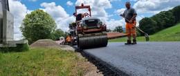 Rhöngemeinde setzt Wegebaumaßnahmen fort: Aufbau von Wirtschaftswegen