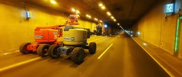Wartungsarbeiten und Sperrungen im A 66-Tunnel Neuhof