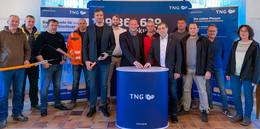 Erster TNG Glasfaseranschluss im Grebenauer Rathaus aktiviert