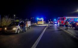Auf der B27: Fußgängerin (59) von Pkw erfasst und schwerverletzt