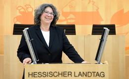 Tanja Hartdegen (SPD) freut sich auf ihre neue Aufgabe im Hessischen Landtag