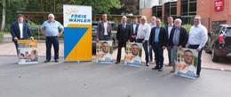 Freie Wähler wollen in den Bundestag: Hubert Aiwanger besucht Landkreis