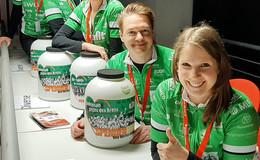 Tour der Hoffnung sammelt bei Sport & Show 5.825 Euro Spendengelder