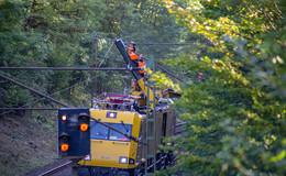 Oberleitungsstörung: Bahnverbindung nach Frankfurt gesperrt