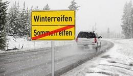 Zeit für Winterreifen: Autofahrer müssen bereits mit Reifglätte rechnen