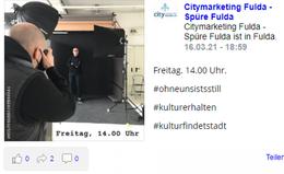 Immer live auf dem neuesten Stand - bei spuere-fulda.de
