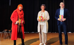 Kinderbuchautorin Suza Kolb am Marianum