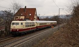 Im Trans-Europ-Expressvon Frankfurt am Main nach Lübeck