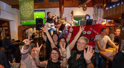 30 Jahre Wiesenmühle: Jubiläumsnacht mit dem Duo Malibu