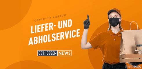 Jetzt Liefer- und Abholservice bewerben auf OSTHESSEN NEWS