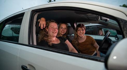Das Freitagabend-Event schlechthin: Autokino in familiärer Atmosphäre