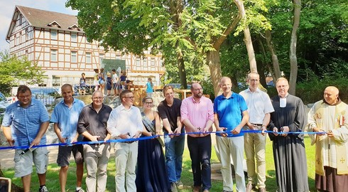 """Feierliche Eröffnung des """"Park der Generationen H2O Bad Salzschlirf"""""""