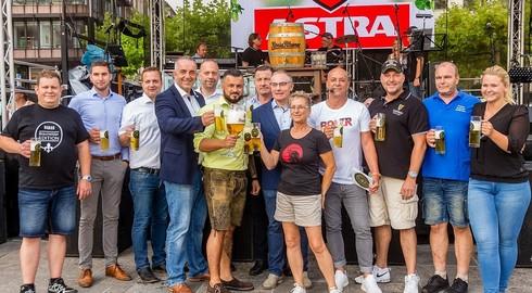 Universitätsplatz im Zeichen des Hopfens: Festival des Bieres bis Sonntag
